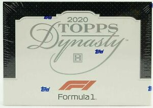 2020 Topps Dynasty Formula 1 Factory Sealed Hobby Box