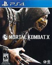 Mortal Kombat X W/ CASE (Sony PlayStation 4, 2015)