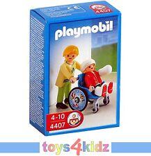 PLAYMOBIL® CITY ACTION Klinik Krankenhaus 4407 Kinderrollstuhl  * * NEU / OVP