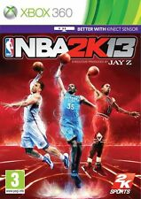 NBA 2K13 XBOX 360 Video Juego Original Perfecto estado UK release