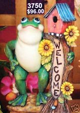 Ceramic Bisque Welcome Frog Creative Paradise Mold 3750 U-Paint Ready To Paint