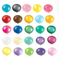 "12"" INCH MIXED LATEX HELIUM QUALITY BALLOONS PARTY DECORATIONS WEDDING BIRTHDAY"