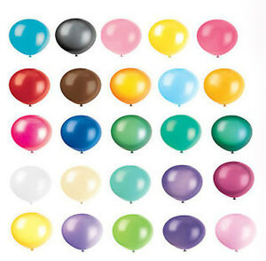 """12"""" INCH LATEX HELIUM QUALITY BALLOONS FOR PARTY SUPPLIES WEDDING BIRTHDAY"""