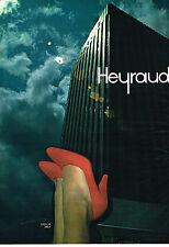 PUBLICITE ADVERTISING 044  1978  HEYRAUD    chaussures  CECILIA