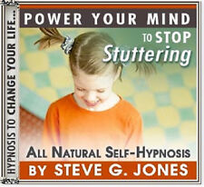 DR.STEVE G JONES Clinical Hypnotherapist STOP STUTTERING SELF HYPNOSIS CD