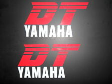 Yamaha DT Trail bike Tank stickers -  decals