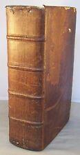 NOUVEAU DICTIONNAIRE DES PASSAGERS FRANCOIS ALLEMAND / RELIURE CUIR 1746