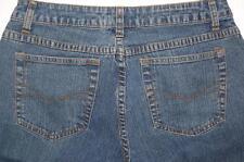 No Boundries Stretch 14  Brown Soft Fabric Patches Denim Jeans Junior Sz 7 EUC