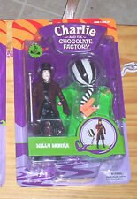 WILLY WONKA AND THE CHOCOLATE FACTORY CHARLIE  WONKA ACTION FIGURE JOHNNY DEPP