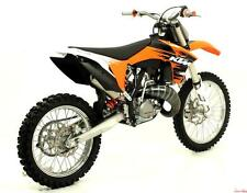 LIGNE COMPLÈTE ARROW TITANE KTM EXC 125 2008/12 - 55048CR+55050CR