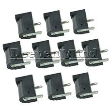 10PCS 5.5x2.1MM 5.5x2.1 Electrical Jack Socket DC-005 Power Outlet Connector