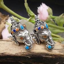 Hindu Pikanet Ganesha Elephant Pendant Buddhist Prayer Jewelry Necklace pendant