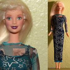 "Mattel Barbie 11.5"" HOLLYWOOD NAILS DOLL Pop Culture Superstar Trendy Dress"