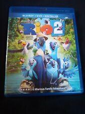Rio 2 (Blu-ray/DVD, 2014, 2-Disc Set)