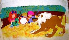 1972 FRANCISCO MAZZA ORIGINAL ART CIRCUS SKETCH PATORUZITO ARGENTINA
