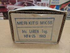 1/43 MERI KITS MK55 MCLAREN TAG MP4-2B 1985  MARLBORO ALAN PROST NIKI LAUDA