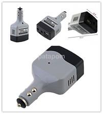1pc Inverter DC 12V to AC 220V Car Adapter USB Laptop Mobile Charger ConverterUS