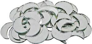 Home Decorative Moon Shape Mirror Art Décor Craft DIY Mirror 93 Pieces MR12