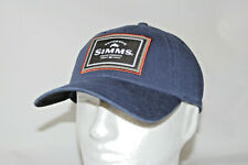 5e77c70a8 Simms Fly Fishing Single Haul Adjustable Snapback Cap Hat in Admiral Blue  OSFM