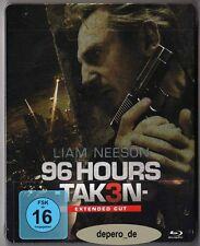 """96 HOURS - TAKEN 3"" - Action Thriller - Liam Neeson - BLU RAY STEELBOOK"
