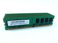 10x Micron MT16HTF25664AY-800G1 2GB PC2-6400 DDR2-800 Desktop RAM Bulk Job Lot