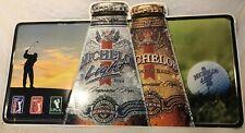 Michelob Light Ribbon Beer Metal Sign - Pga Golf Lpga Senior Tour 2001 Series