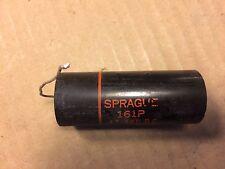 Vintage Sprague Black Beauty .47 uf 600v Capacitor 161P Cap TESTED broken lead