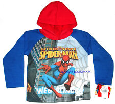AMAZING SPIDERMAN ~COOL TALKING HOODIE PULLOVER~ SZ 2T