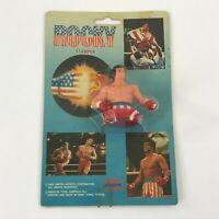 1985 Rocky Balboa Stamper Winston Toys Sylvester Stallone Plastic Figure Vintage
