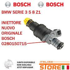 BMW SERIE 3 5 8 Z1 INIETTORE NUOVO ORIGINALE BOSCH 0280150715
