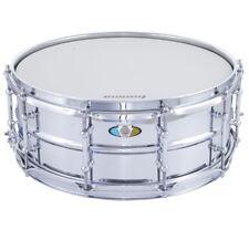 """Ludwig 14"""" Supralite Perles steel Snare Drum LW5514SL"""