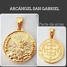 ARCANGEL SAN GABRIEL COLGANTE PLATA DE LEY  SILVER PLATA ARCHANGEL SAN GABRIEL
