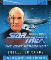 Star Trek The Next Generation TNG Inaugural Edition Card Box