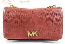MICHAEL Michael Kors Deco M Quilted RoseGold Leather Belt Bag