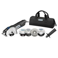 Corded Electric Compact Circular Saw Tool Kit 7 1/2 Amp 4 1/2in Mini Portable