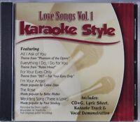 Love Songs Volume 1 Karaoke Style NEW CD+G Daywind 6 Songs