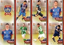 2015/16 TAP N PLAY FFA & A-LEAGUE 16-CARD BASE TEAM SET NEWCASTLE UNITED