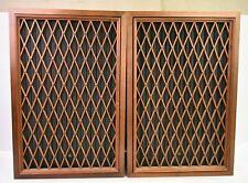 """Pioneer CS-63DX 4 Way Floor Speakers 15"""" Sub Vintage Wood Case Working Units"""