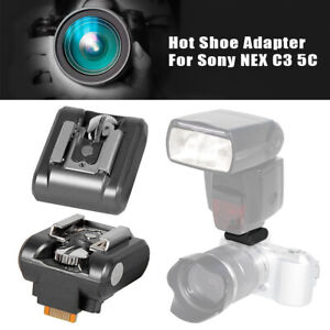 Hot Shoe Adapter Camera Accessory Flash Stand Photography For Sony NEX C3 5C