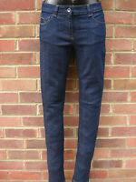 Next Everyday Slim / Straight Indigo Dark Wash Jeans All Sizes