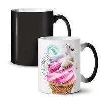 Unicorn Ice-Cream NEW Colour Changing Tea Coffee Mug 11 oz | Wellcoda