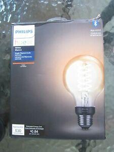 Philips Hue White Vintage G25 2100 K Warm 1 pack bulbs E26 NEW