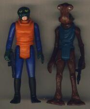 Vintage Star Wars MOMAW NADON - WALRUSMAN coppia alieni GMFGI originale 1978