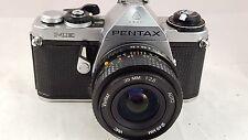 VINTAGE ASAHI PENTAX ME 35mm CAMERA W/35mm f2.8 Vivitar VMC Auto lens