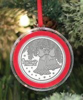 D1:Tube Vintage 1973 Official Oklahoma Medallion 1oz Fine Silver