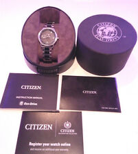 Citizen Eco-Drive Women's Silhouette Crystal Watch Stainless