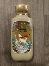 Bath Body Works Vanilla Bean Noel Body Lotion 8oz Sealed Free Shipping