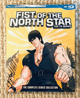 Fist of the North Star Complete TV Series (3 Blu Ray) Rare Anime 152 Eps * NEW *