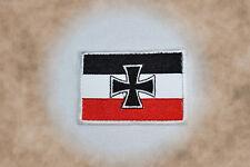 Militaria Deutsches Reich Gösch der Kriegsschiffe Patch Aufnäher Aufbügler