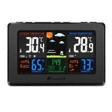 Wireless Weather Station, Houzetek S657 Indoor Outdoor Thermometer Color Home Al